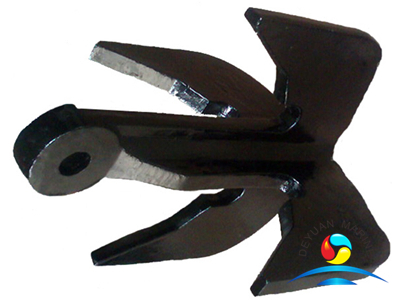 Grapnel Anchor Four Claw Plough Anchor Folding Boat Anchors