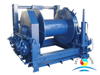 Marine Single Drum Mooring Winch With BV Certifcate