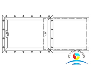 Marine Fire-retardant Type Service Window For Boat
